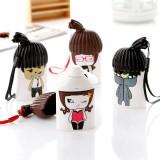 Wholesale - Cartoon Girl Boy Portable Mini Fan Small Fan (K1030)