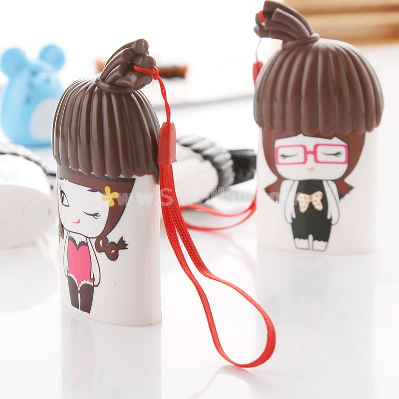 Cartoon Girl Boy Portable Mini Fan Small Fan (K1030)