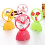 Wholesale - Mini Fan Touch Button Fruit Style Charge-Type Creative (K1108)