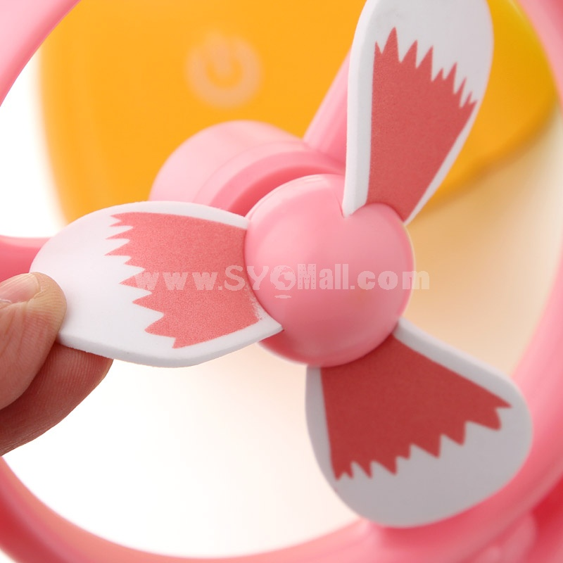 Mini Fan Touch Button Fruit Style Charge-Type Creative (K1108)