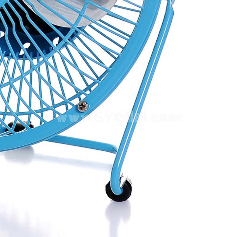 "6"" Ultra-Silent Fan Aluminum 360°Adjustable USB (K1060)"