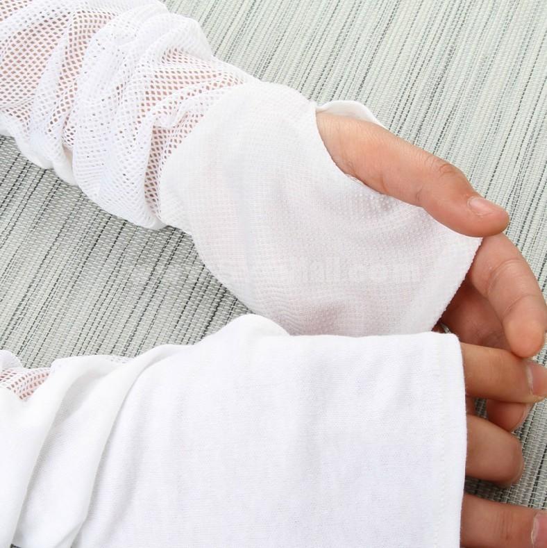 Sunscreen Oversleeve / Gloves UV Blocking 95%Cotton (E9853)