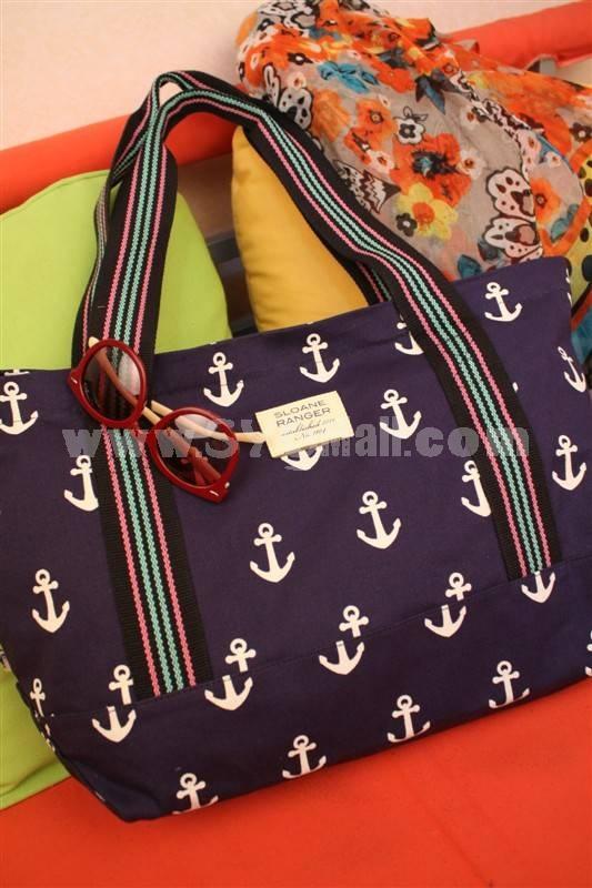 SR Cute and Fashion Thick Canvas Shoulder Bag
