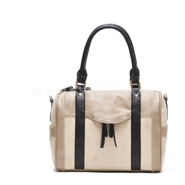 Natural Style Canvas Leisure Shoulder Bag