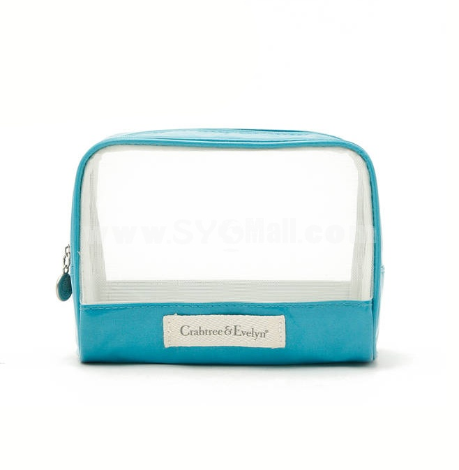 CRABTREE EVELYN Gridding Waterproof Cosmetic Bag