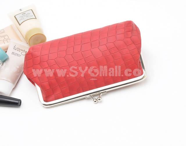 Stone Pattern Large Capacity Cosmetic Bag