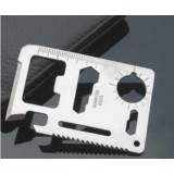 wholesale - 5 Piece Multi-Function Saber Card Emergency Survival Pocket Knife