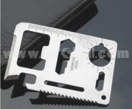 Multi-Function Saber Card Emergency Survival Pocket Knife