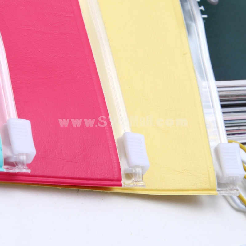 Pencil Bag Stationery Bag PVC Pure Color  (W1260)