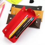 Wholesale - Cute PU Leather Pencil Stationery Bag (W2040)