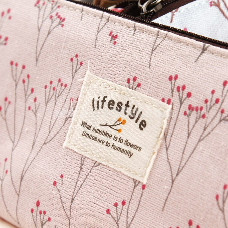 ZAKKA Pencil Bag Stationery Bag Country Style (SN1384)