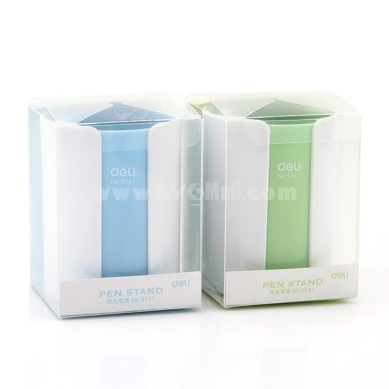 DELI Pen Holder Bicolor Multi-Purpose Fashion (W2131)