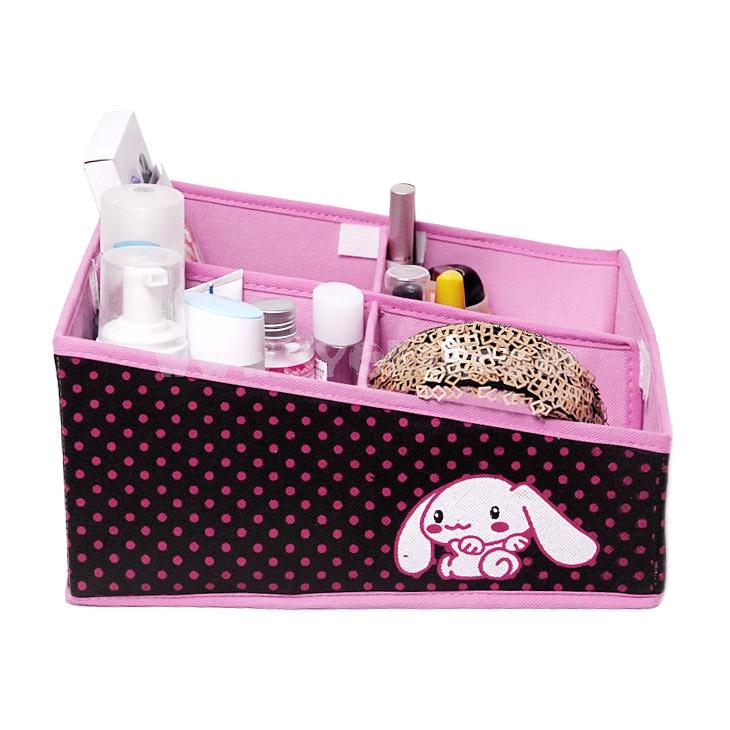 BELO Desktop Storage Box Cosmetics Box Multi-Purpose 4 Cells (SN1444)