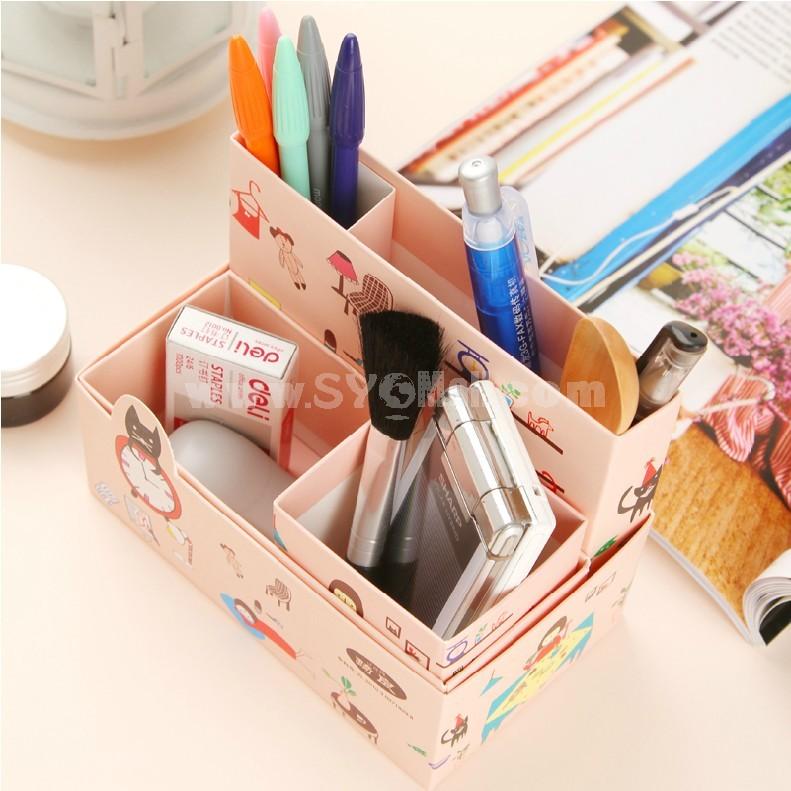 Desktop Storage Box Cosmetics Box Cartoon Series (SN1407)