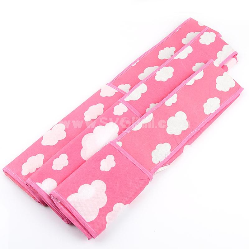 Storage Box for Underwear Socks Bra Multi-Purpose Non-Woven Fabric (I9446)
