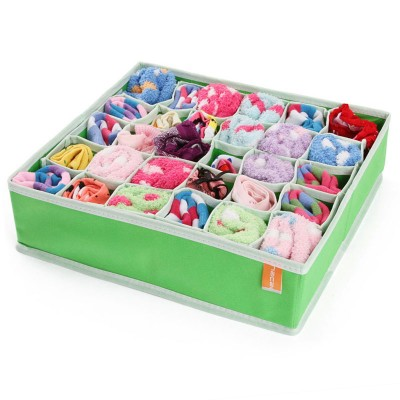 http://www.orientmoon.com/59285-thickbox/storage-box-for-socks-non-woven-fabric-30-cells-green-k0760.jpg