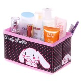 Wholesale - BELO Storage Box Lucky Rabbit Pattern Non-Woven Fabric Dots Style (SN1431)