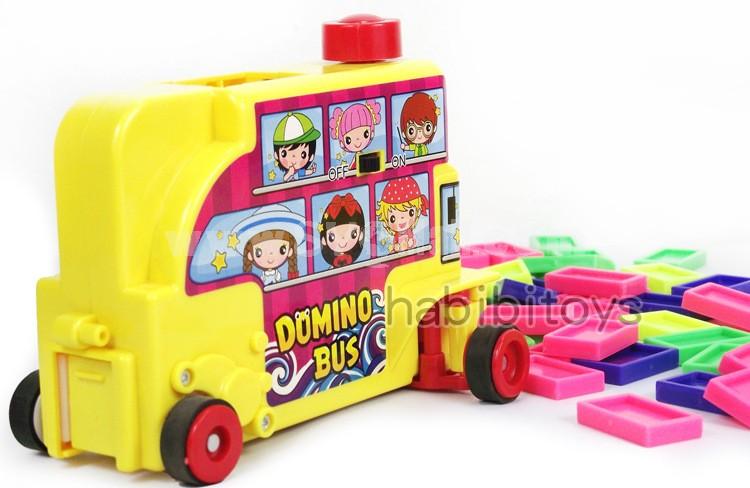 Educational Mini Domino Electronical Bus Kit 300pcs