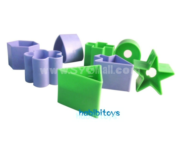 Educational Cute 10 Shapes Box Learning Toy
