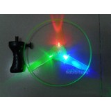 Wholesale - Funny Colorful LED Light Up Flying Disc Toy 10in