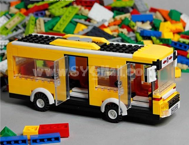 WANGE High Quality Blocks Bus Series 289 Pcs LEGO Compatible 30131