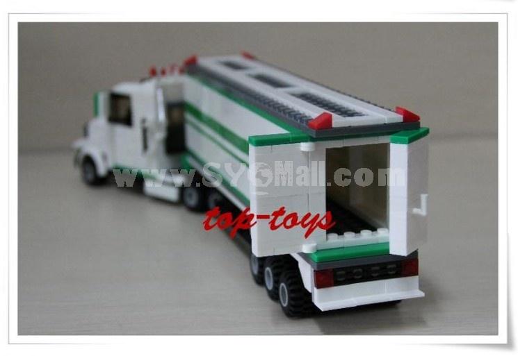 WANGE High Quality Blocks Truck Series 352 PcsLEGO Compatible 37101