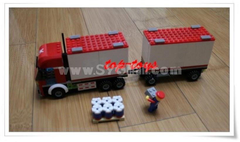 WANGE High Quality Blocks Truck Series 310 PcsLEGO Compatible 40615