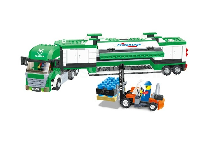 WANGE High Quality Blocks Truck Series 463 PcsLEGO Compatible 040616