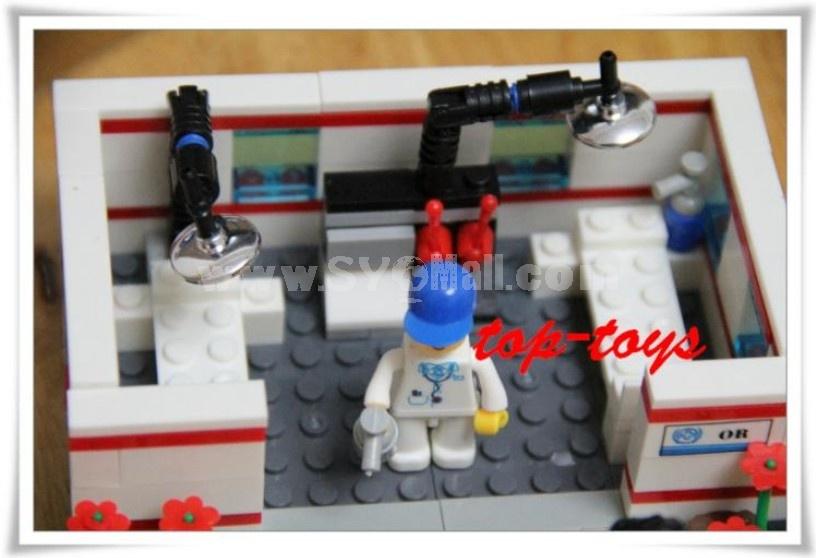 WANGE High Quality Blocks Hospital Series 158 PcsLEGO Compatible 27165