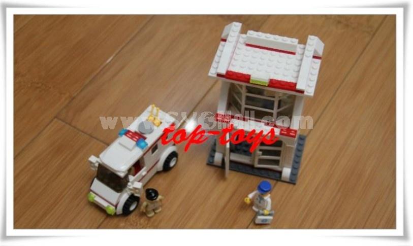 WANGE High Quality Blocks Hospital Series 228 Pcs LEGO Compatible 29162