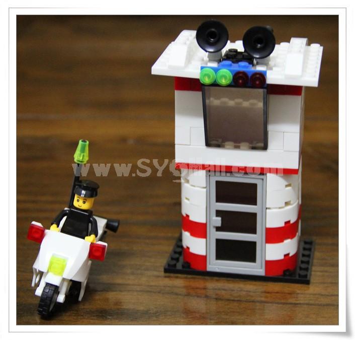 WANGE High Quality Blocks Fire Station Series 133 Pcs LEGO Compatible 040811