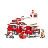 Wholesale - WANGE High Quality Building Blocks Fire Station Series 567 Pcs LEGO Compatible