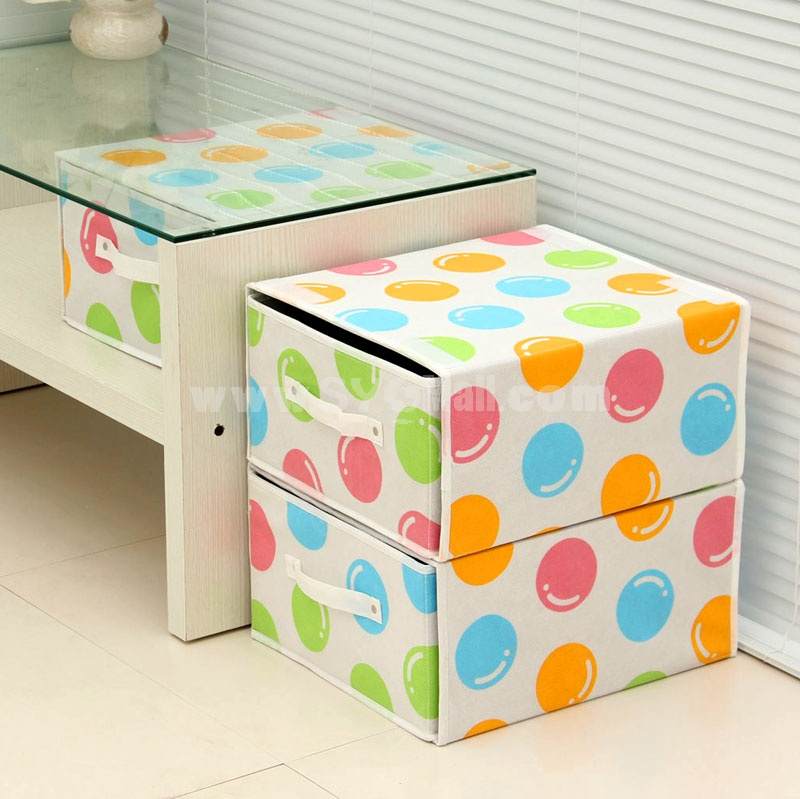 BELO Storage Box Superposable Multi-Colored Non-Woven Fabric (SN1476)