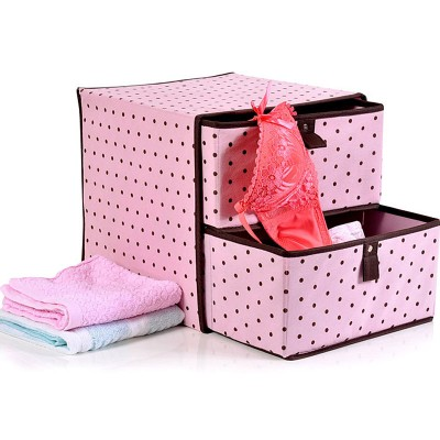 http://www.orientmoon.com/59707-thickbox/storage-box-with-double-drawers-dots-design-non-woven-fabric-sn1364.jpg