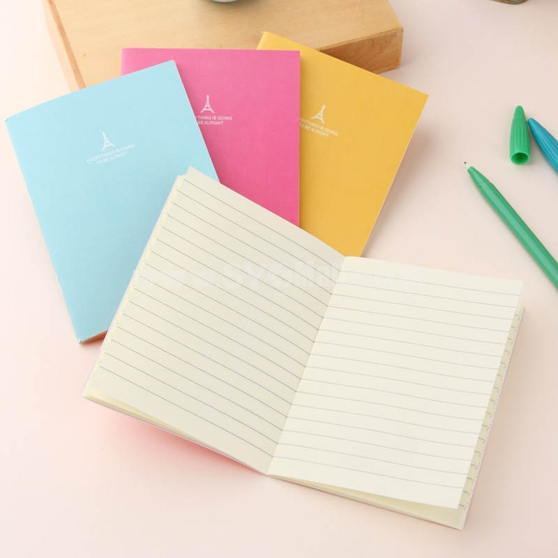 Mini Notebook Notepad A6 Candy Color 8-Pack (W2122)