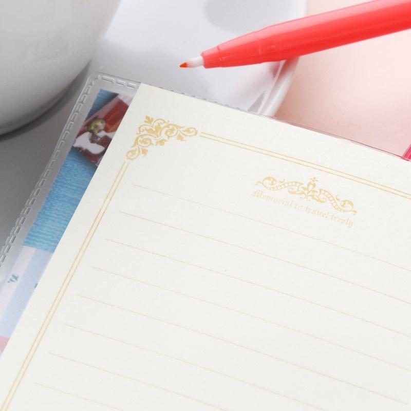Mini Notebook Notepad Milk Tea Cartoon Style 4-Pack (K0151)