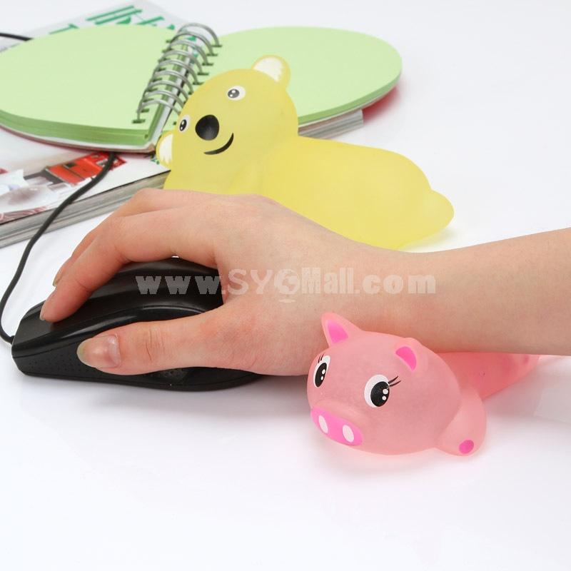 Wrist Pad Cooling Pad Lovely Cartoon Animal Shape (E9762)