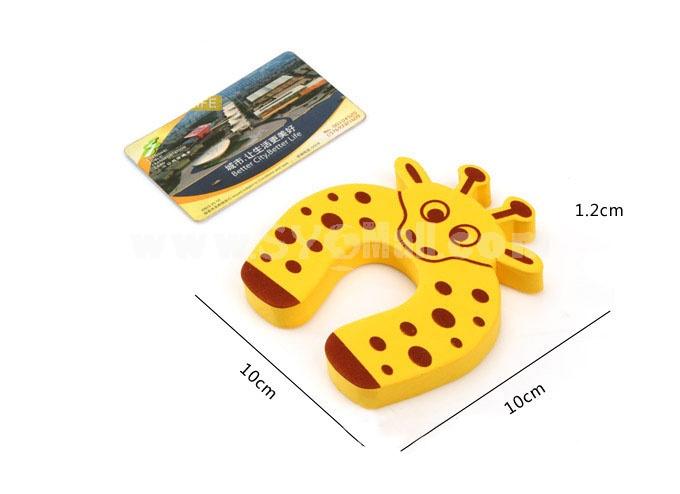 Cartoon Door Stopper Baby Protection Product 5-Pack (FXSJ001)