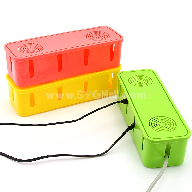 Storage Box for Power Cord Pure Color (K0222)