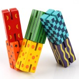 Wholesale - Building Block Toy Wooden Early Educational Toy 6-Pack