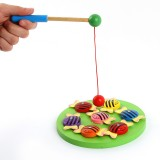 Wholesale - Magnetic Wooden Fishing Toy