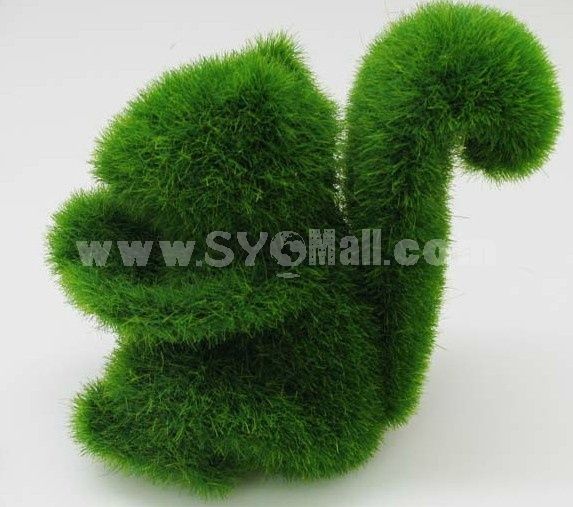 Creative Grass Land Artifical Grass Animall Decor Chip Pattern