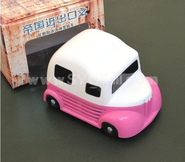 Creative Mini Bus Pattern Desk Vacuum Cleaner 2PCs
