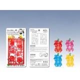 wholesale - 3D Mini Winnie the Pooh Crystal Jigsaw Puzzle 2Pcs