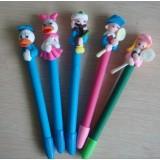 Wholesale - Cute Polymer Clay Cartoon Pen, 2PCs