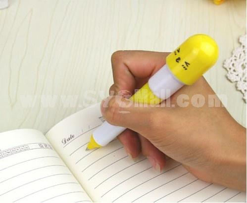 Stylish Cartoon Flexible Ballpoint Pen 2PCs
