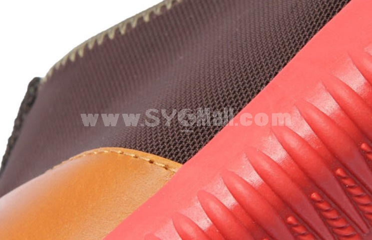 GOUNIAI Men's Fashion Breathable Elastic Mesh Casual Shoes