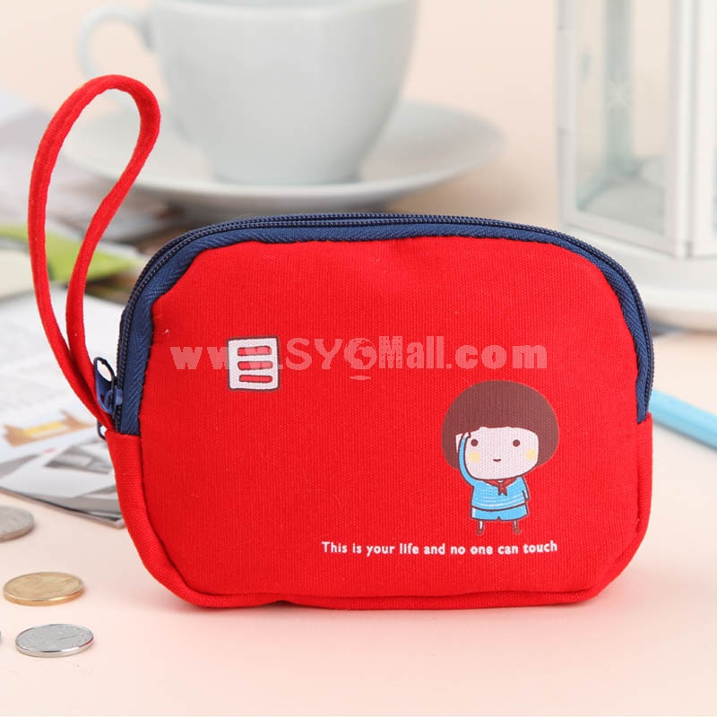 Cartoon Wallet/Bag/Purse/Case for Coins/Cellphones/Cards Kids Pattern Canvas (P2557)