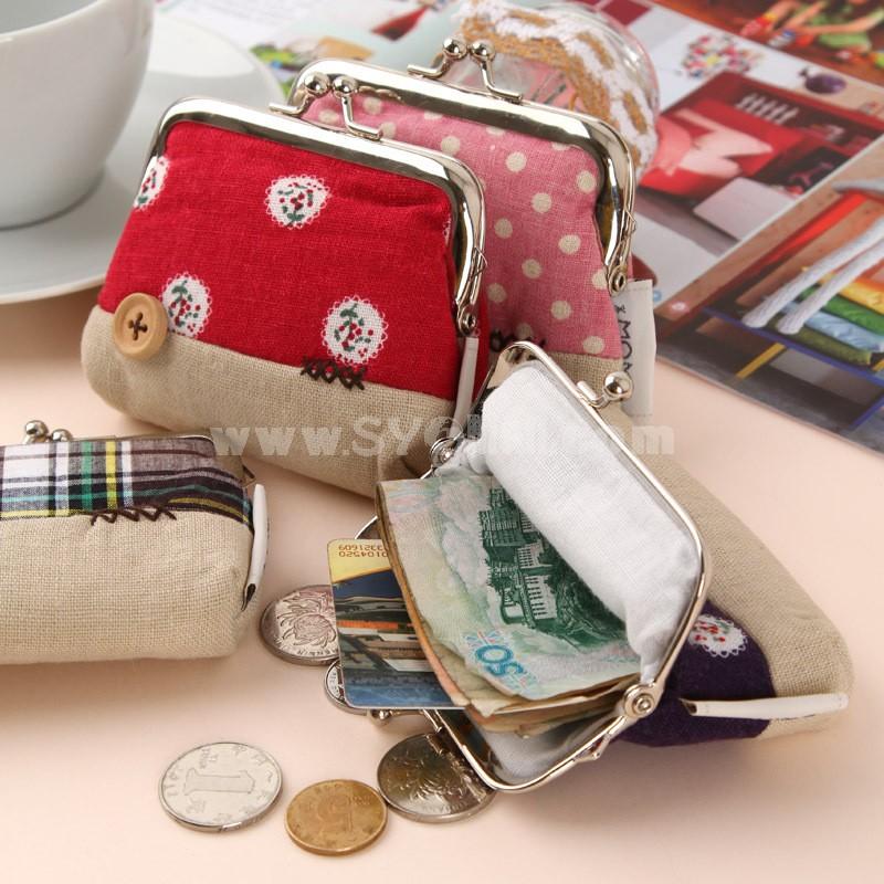 Mini Handbag/Purse/Storage Bag Multi-Colored  (P2416)