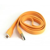 Wholesale - Micro USB Data & Charger Flat Cable for Samsung/MOTO/HTC 6.6 Ft